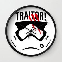 Traitor! Wall Clock