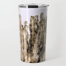Metal Cactus Travel Mug