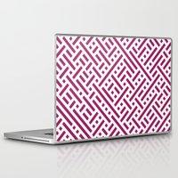 darren criss Laptop & iPad Skins featuring Criss Cross by Cina Catteau