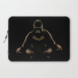 Ape Meditating Laptop Sleeve