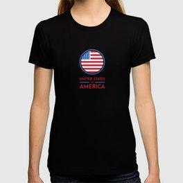 U.S.A Design T-shirt