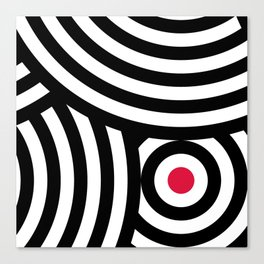Cropped Roundels Canvas Print