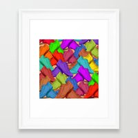 shoes Framed Art Prints featuring shoes by ErsanYagiz