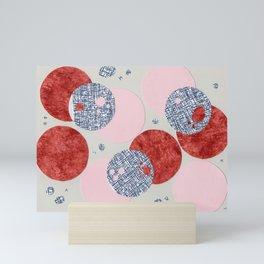 Round and Round Mini Art Print