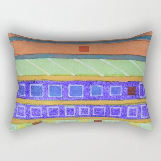 Modern Building Facade Rectangular Pillow