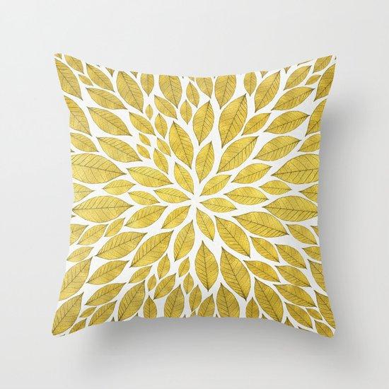Petal Burst #25 Throw Pillow