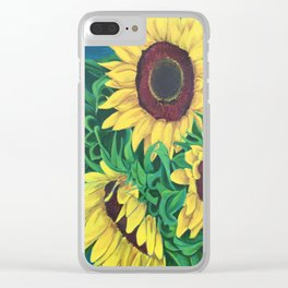 Flores 1 Clear iPhone Case