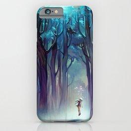 AquaForest iPhone Case