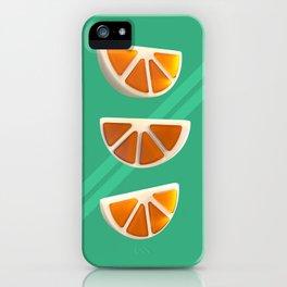 Orange Chew Candy iPhone Case