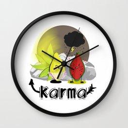 Karma Wall Clock