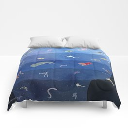 Zones of the Ocean Comforters