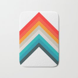 Colorful bands Bath Mat