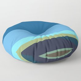 Santa Monica Horizon 0203 Floor Pillow