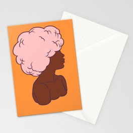 Afro II Stationery Cards