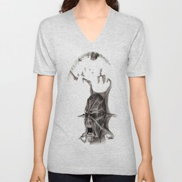 jeepers creepers Unisex V-Neck