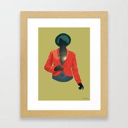 One body - one universe Framed Art Print