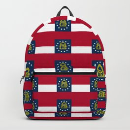 Georgia State Flag Backpack