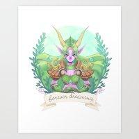 Ysera of the Dream Art Print
