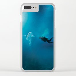 Collision Clear iPhone Case
