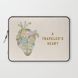 A Traveler's Heart Laptop Sleeve