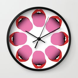 Miley Style Wall Clock