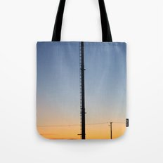 Tower in the Sky Tote Bag