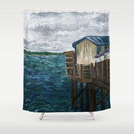 Lost Tranquility Shower Curtain