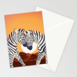 Serengeti Sunset Stationery Cards