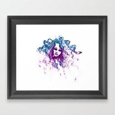 GlowGhost Framed Art Print