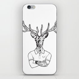 bambi's a grown up now  Black iPhone Skin