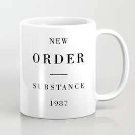 New Order Substance 1987 Coffee Mug