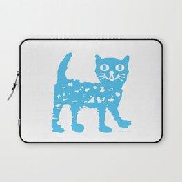 Blue cat Laptop Sleeve