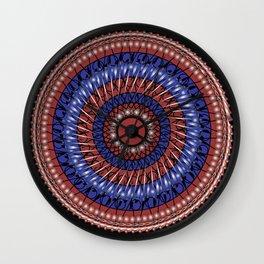 Mandala 8 Wall Clock
