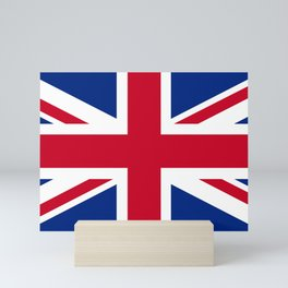 Union Jack Flag Mini Art Print