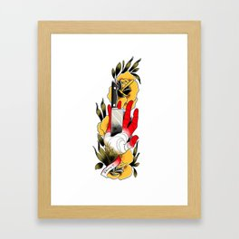 Bad day, know it all Framed Art Print