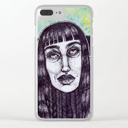 Fuck It Clear iPhone Case