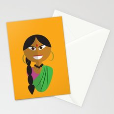Indian Doll Stationery Cards