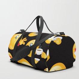 Emoji Pattern 9 Duffle Bag