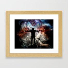 Smokin Framed Art Print