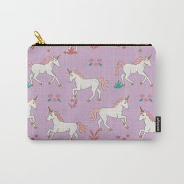 Dashing Unicorns Carry-All Pouch