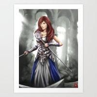 white mage Art Print