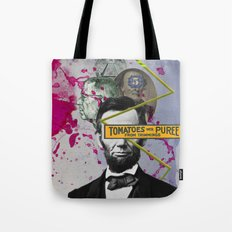Public Figures -  Lincoln Tote Bag