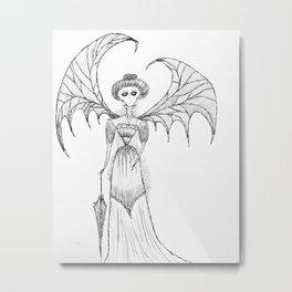 Madam Metal Print