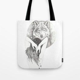 WolfMoon Tote Bag