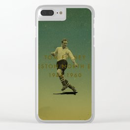 Preston North End - Finney Clear iPhone Case