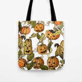 halloween party pumpkin Tote Bag