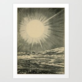 Lucas Albert Reed - Astronomy and the Bible (1919) - Sirius, a Celestial Furnace Art Print