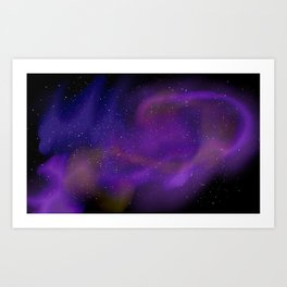 Spacey space Art Print