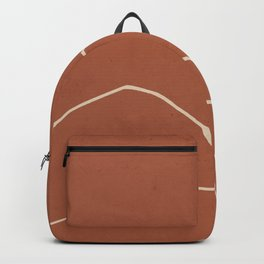 Minimal Abstract Art Landscape 2 Backpack