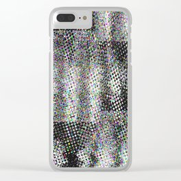 Digitized V Clear iPhone Case